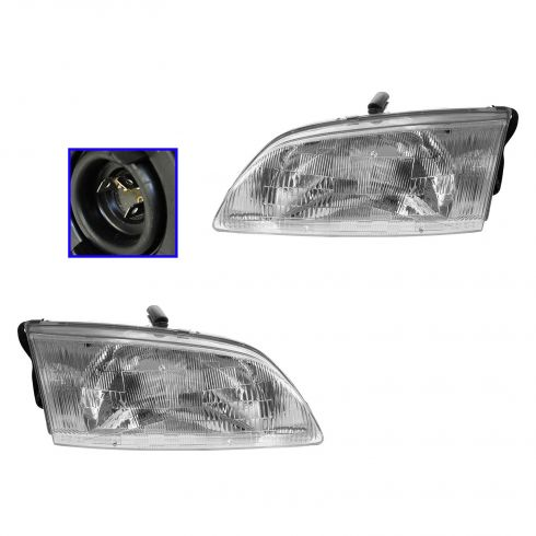1998-99 Mazda 626 Headlight Pair