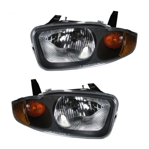 2003-05 Chevy Cavalier Headlight Pair