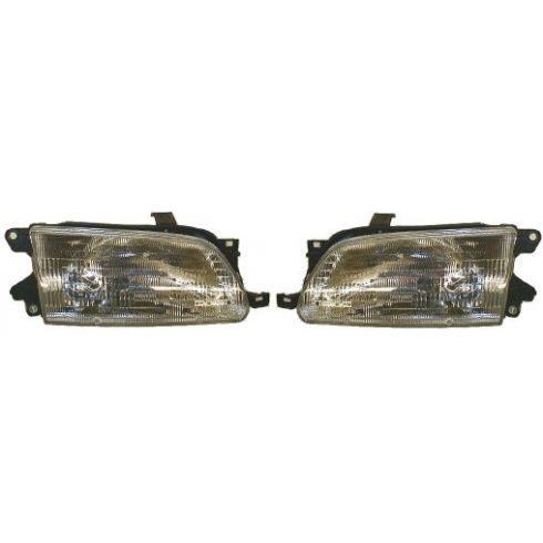 1995-96 Toyota Tercel Composite Headlight Pair
