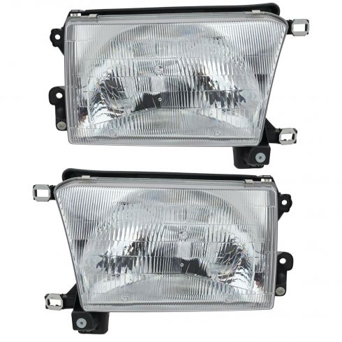 1996-98 Toyota 4Runner Composite Headlight Pair