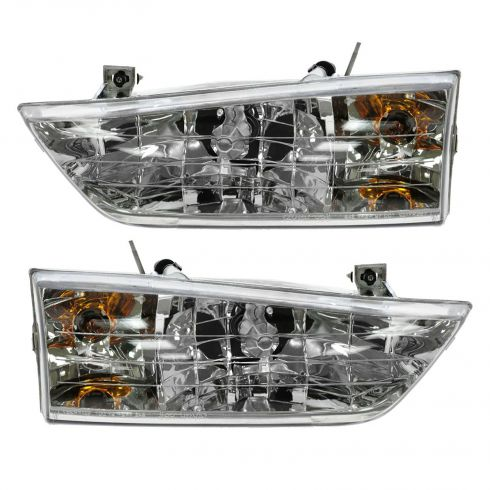 1998 Ford Windstar Composite Headlight Pair