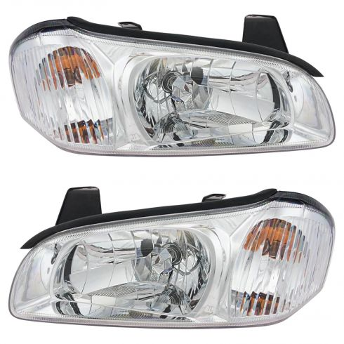 2000-01 Nissan Maxima Composite Headlight Pair (Except 20th Anniv Edition)
