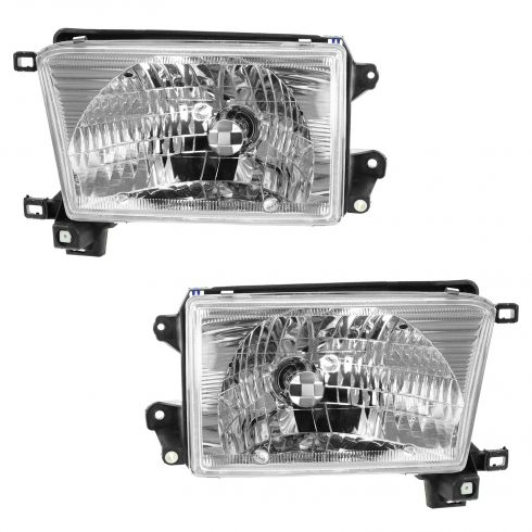 1999-02 Toyota 4Runner Composite Headlight Pair