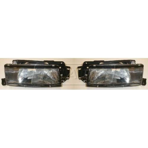 1990-94 Mazda Protege Composite Headlight Pair