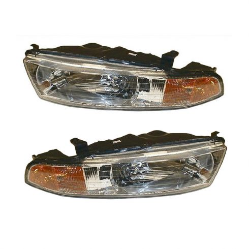 Composite Headlight Combo Pair