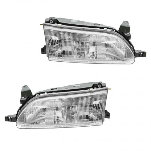 1993-97 Toyota Corolla Composite Headlight Pair