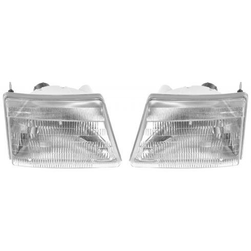 1998-00 Ford Ranger Composite Head lamp Pair
