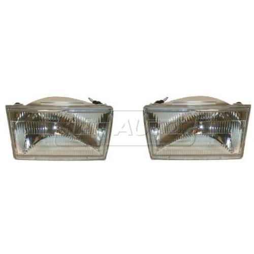 1990-94 Lincoln Town Car Composite Head Lamp Pair