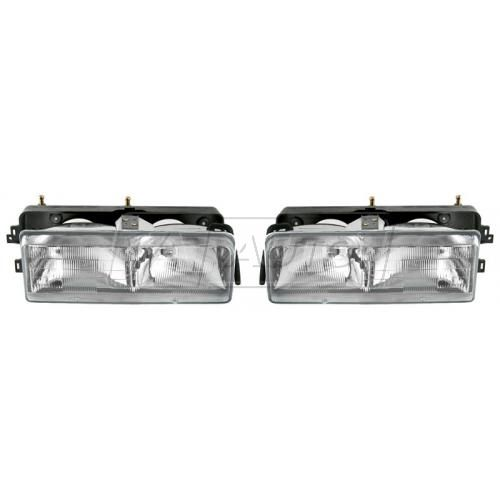 1989-96 Buick Century Composite Head Lamp Pair