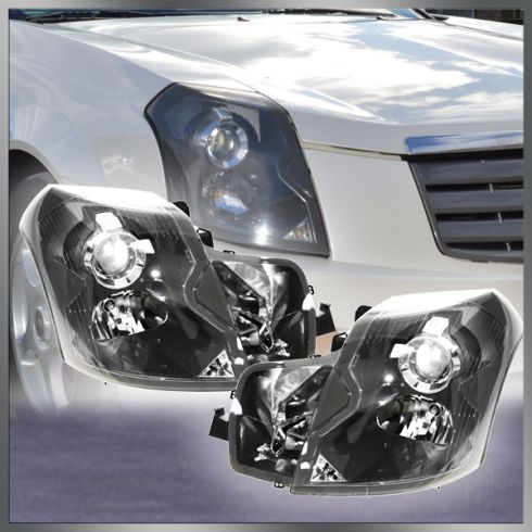 2003-07 Cadillac CTS Headlight Pair