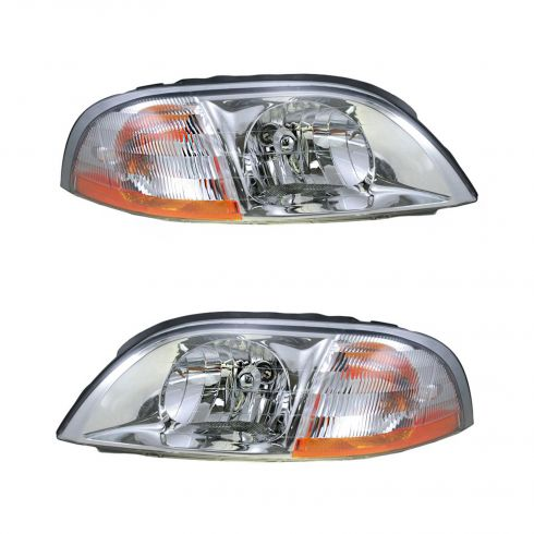 2001-03 Ford Windstar Composite Headlight Combo Pair