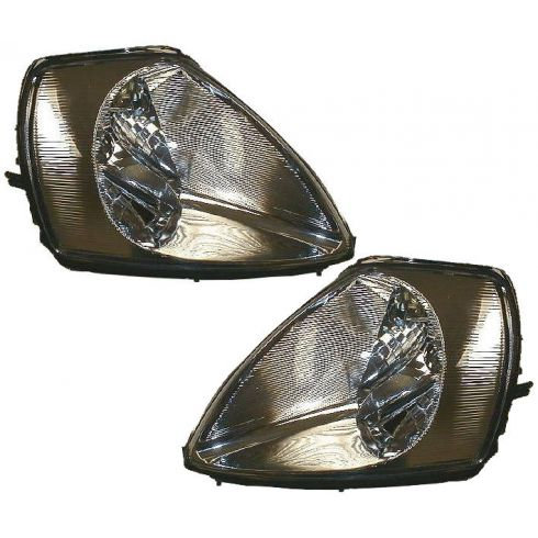 2003-05 Mitsubishi Eclipse Composite Headlight Pair