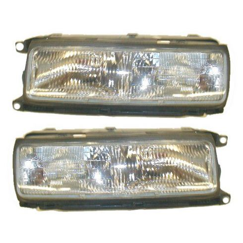 1990-91 Buick LeSabre Composite Headlight Pair