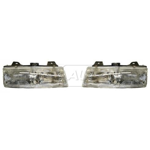 1990-96 Lumina Trans Sport Silhouette Composite Headlight Pair