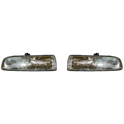 1993-96 Buick Regal 4 door Composite Headlight Pair