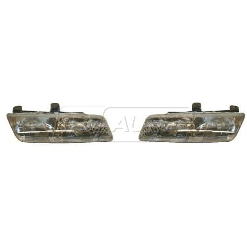 1993-95 Saturn Composite Headlight Pair
