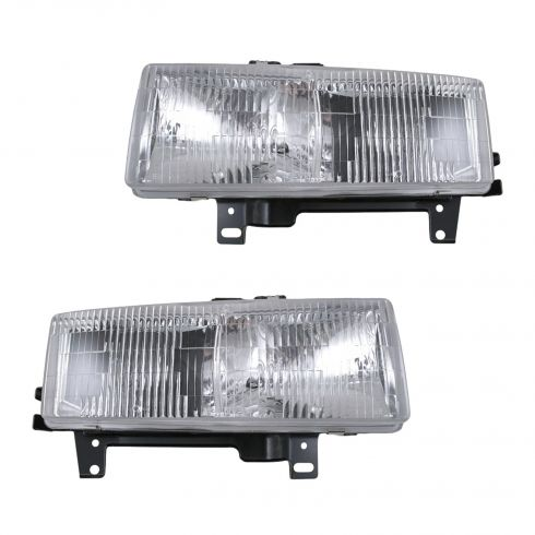 1996-02 Express Savana Van Composite Headlight Pair