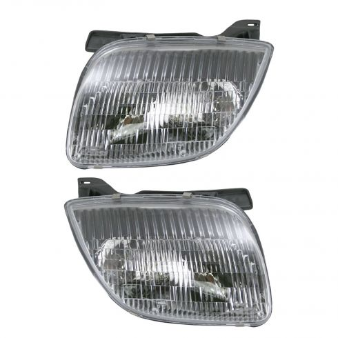 1995-02 Pontiac Sunfire Composite Headlight Pair
