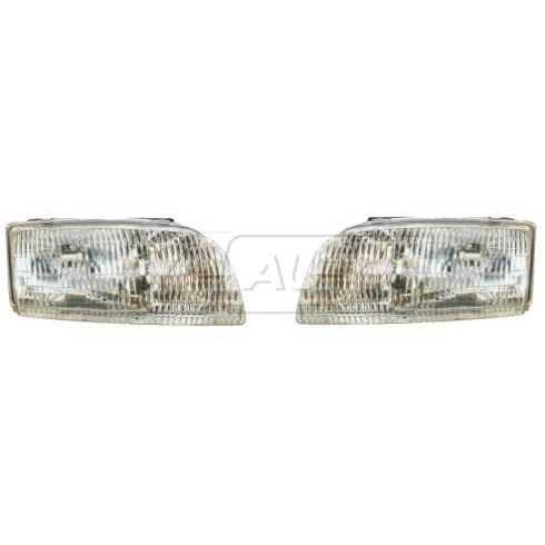 1996-98 Buick Skylark Composite Headlight Pair