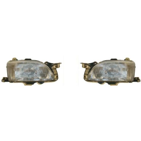 1994-96 Ford Aspire (excl SE) Composite Headlight Pair