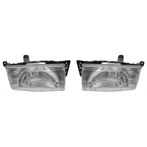 1991-96 Mercury Tracer Composite Headlight Pair
