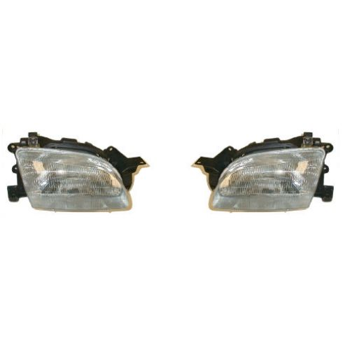1994-96 Ford Aspire (SE model) Composite Headlight Pair