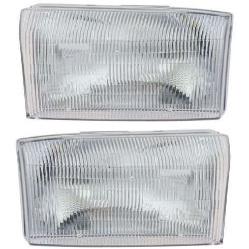 1999-04 Ford Pickup (SD Models) Composite Headlight Pair