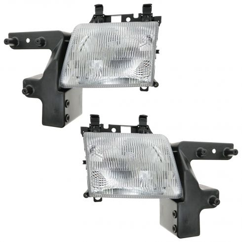 1998-03 Dodge Van Composite Headlight Pair