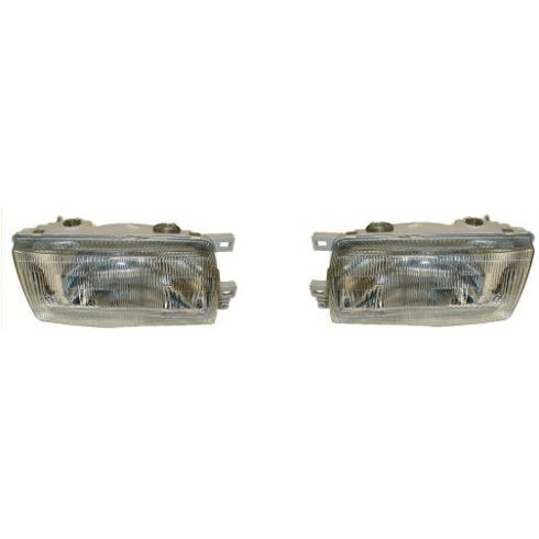 1993-94 Nissan Sentra Composite Headlight Pair