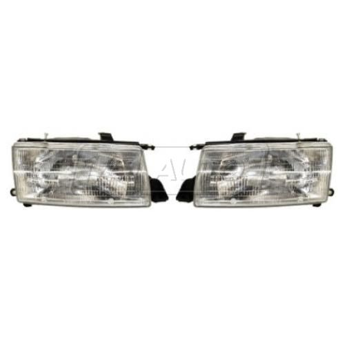 1991-94 Toyota Tercel (DX & LE) Composite Headlight Pair