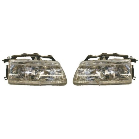 1990-91 Honda Civic Composite Headlight Pair