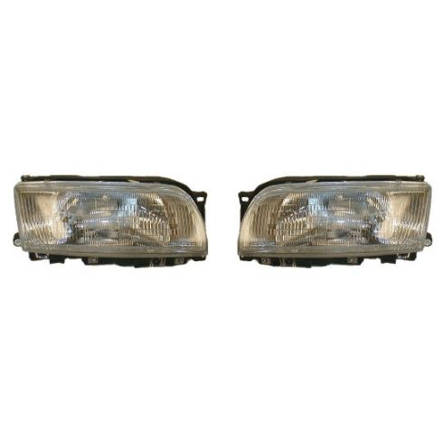 1991-96 Infiniti G20 Composite Headlight Pair