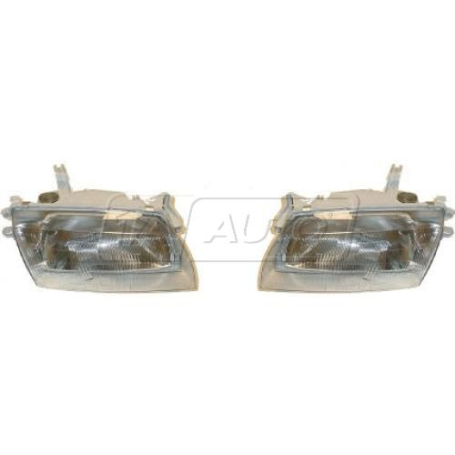 1997-98 Mazda Protege Composite Headlight Pair
