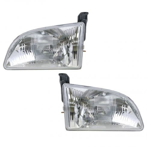 1998-00 Toyota Sienna Composite Headlight Pair