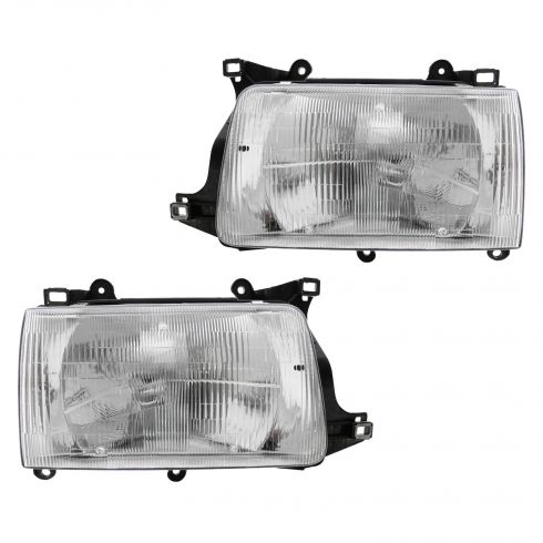 1993-98 Toyota T100 Composite Headlight Pair