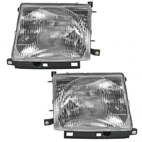 1997-00 Toyota Tacoma Composite Headlight Pair