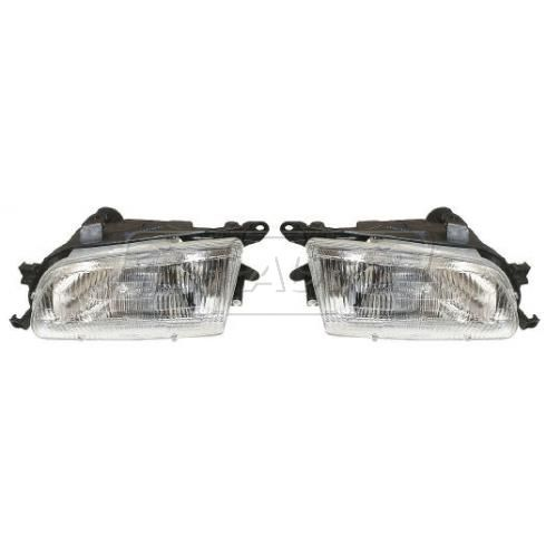 1997 Toyota Tercel Composite Headlight Pair