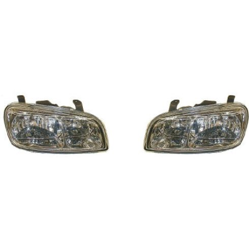 1998-00 Toyota Rav4 Composite Headlight Pair