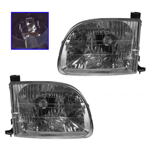 2000-04 Toyota Tundra Composite Headlight Pair