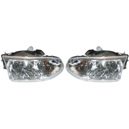 1999-00 Nissan Quest Composite Headlight Pair
