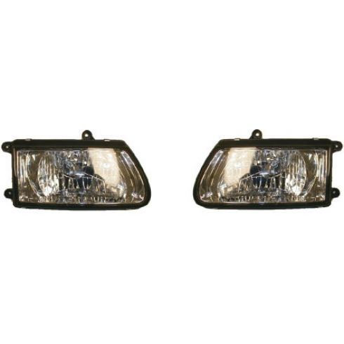 2000-02 Honda Passport Composite Headlight Pair