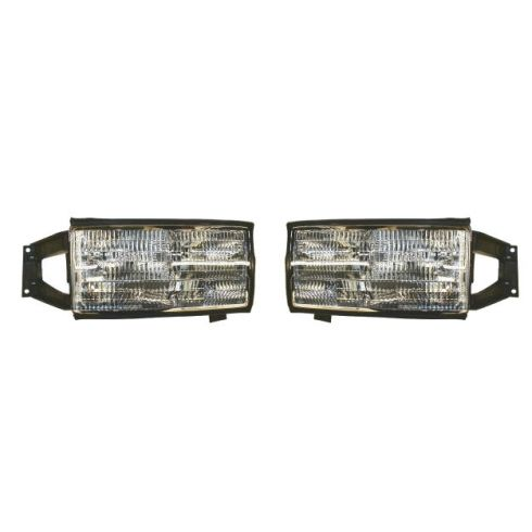 1994-96 Cadillac Deville Composite Headlight Pair