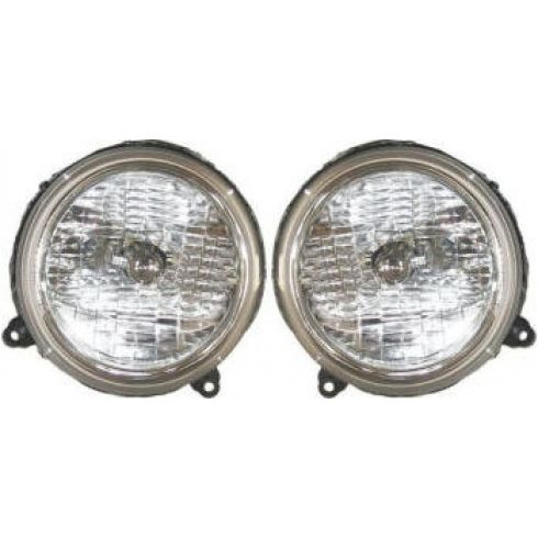 2002-05 Jeep Liberty Headlight Pair