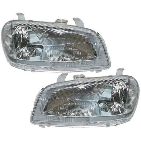1996-97 Toyota Rav4 Composite Headlight Pair