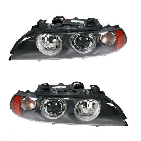 01-03 BMW 5 Series Xenon Hlmp w/ Clr Indicator L