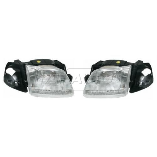 1997 Ford F150 Composite Headlight Pair