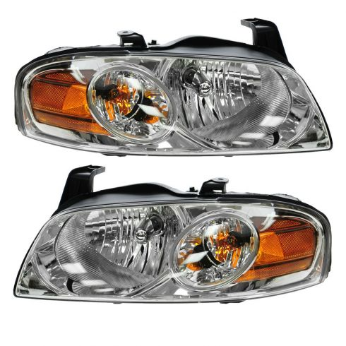 04-06 Nissan Sentra (Base & S Model) Headlight Pair