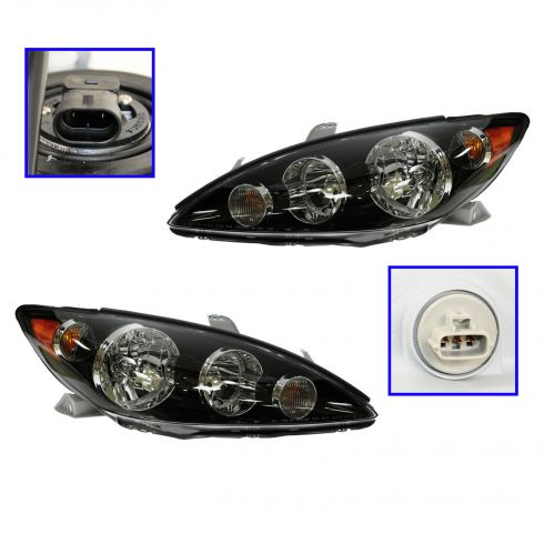 05-06 Toyota Camry SE Headlight Pair