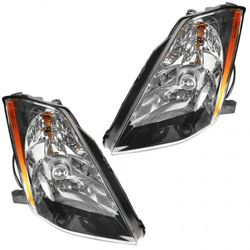 2003-05 Nissan 350Z Headlight Non HID Pair