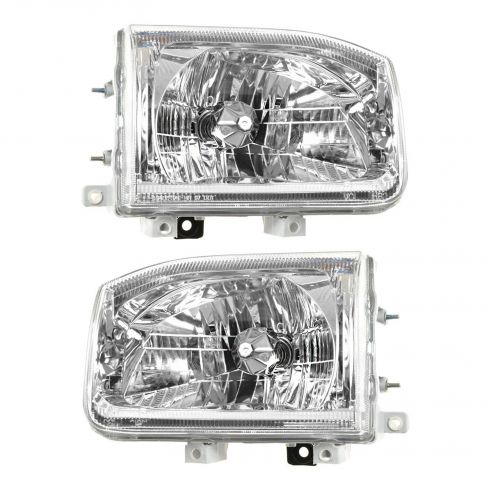 2000 -04 Nissan Pathfinder Headlight Pair